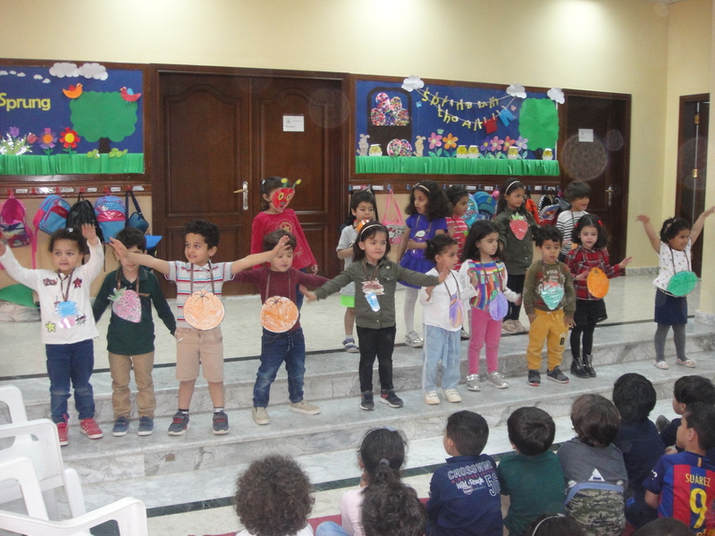 2nd May ice creams and assembly | The British School, Benghazi